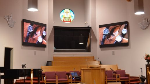 Church LED digital display sign video wall Greentak 760x435 003