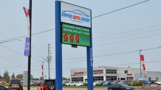 Commercial business plaza LED digital display sign Greentak 760x435 032